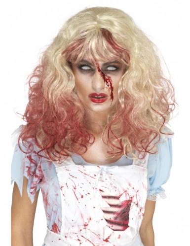 Bloederige blonde pruik voor vrouwen