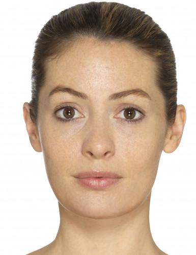 Oude vrouw schmink set met latex-1