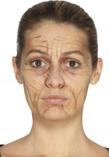 Oude vrouw schmink set met latex-2