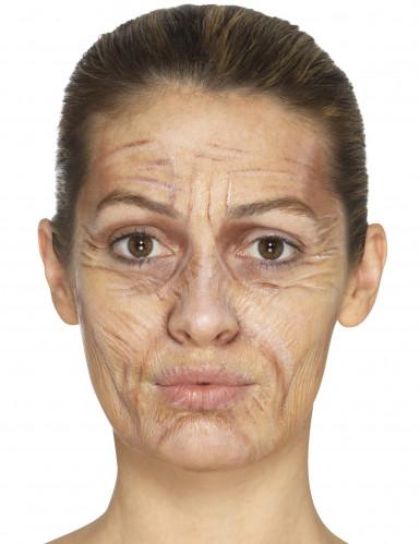 Oude vrouw schmink set met latex-3