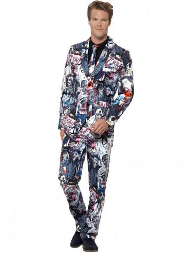 Mr. Zombie kostuum voor mannen