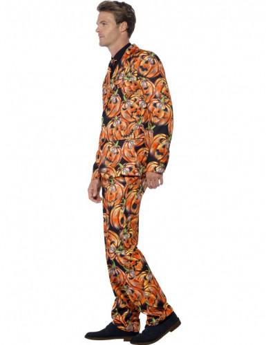 Mr. Scary pompoen kostuum voor mannen-2