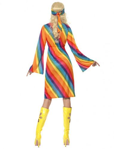 Regenboog hippie kostuum voor vrouwen-1