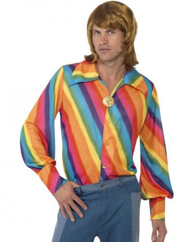 Regenboog overhemd voor heren