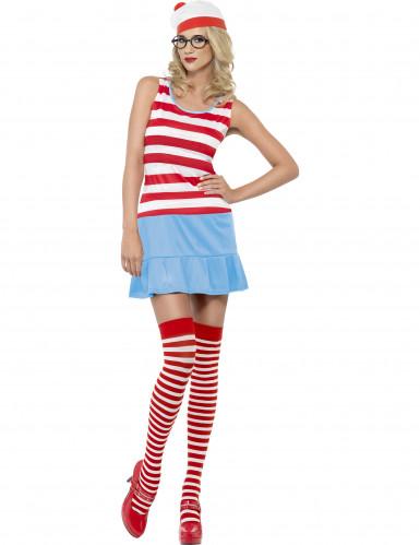 Sexy Waar is Wally™ kostuum voor vrouwen-1