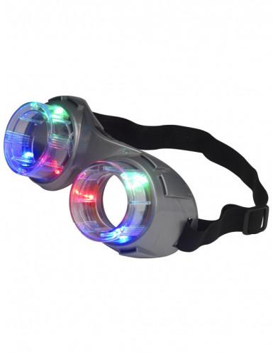 Grijze lichtgevende bril voor volwassenen