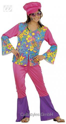 Bloemen jaren 70 hippie kostuum voor meisjes