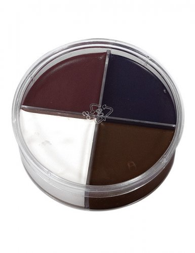 4 kleuren schmink set