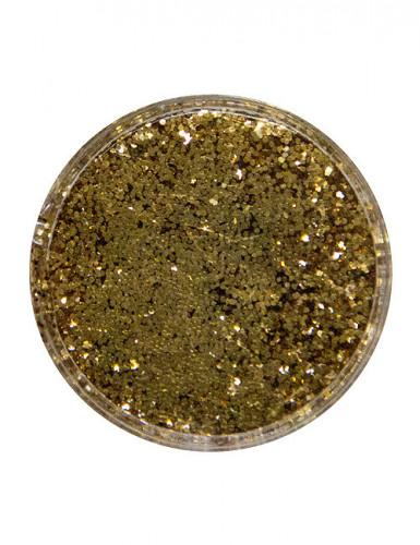 Goudkleurig glitter poeder