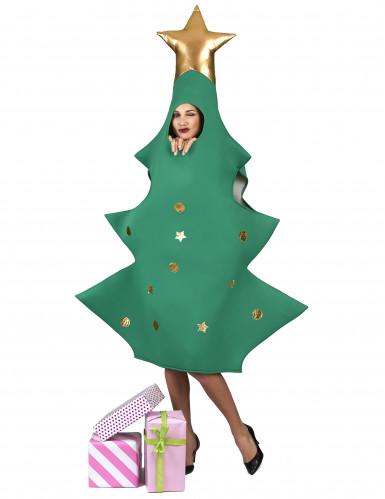 Kerstboom met piek kostuum voor volwassenen-1