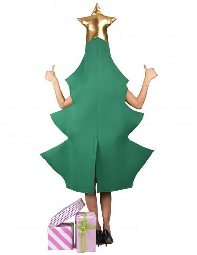 Kerstboom met piek kostuum voor volwassenen-2