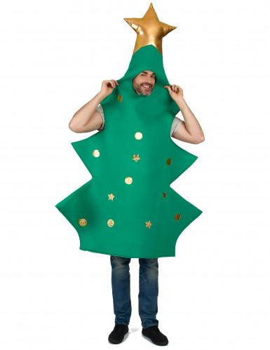 Kerstboom met piek kostuum voor volwassenen-3