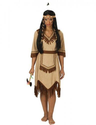 Apache indiaan kostuum voor vrouwen