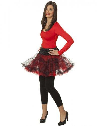 Rode body met lange mouwen voor vrouwen