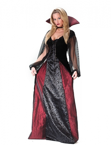 Gothic vampier outfit voor dames