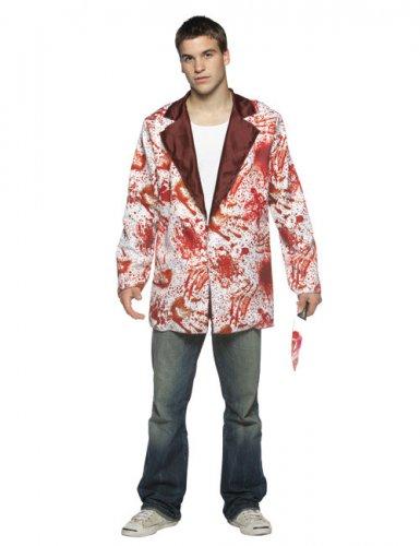 Halloween jasje met nep bloedvlekken