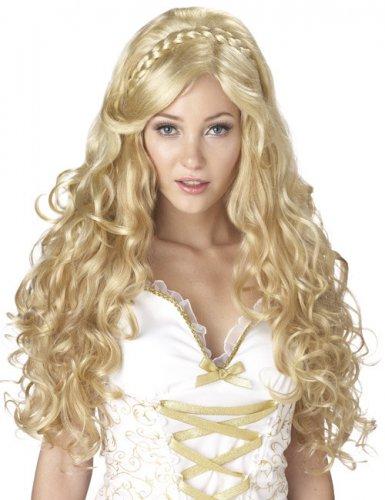 Blonde godin pruik voor vrouwen