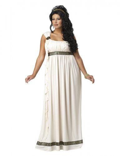 Grieks godinnen kostuum - grote maten