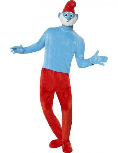 Deluxe Grote Smurf™ kostuum voor mannen