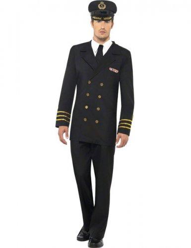Marine officier kostuum voor mannen