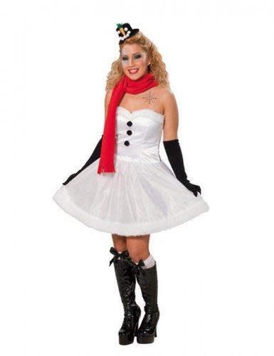 Sneeuwpop outfit voor vrouwen
