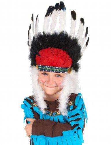 Indianen hoofdtooi voor kinderen