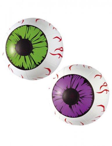 Witte opblaasbare ogen