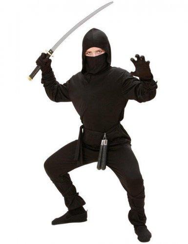 Zwart ninja kostuum voor kinderen