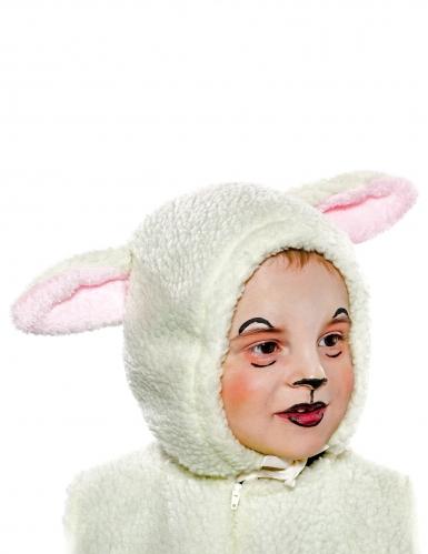 Kleine lam muts voor kinderen