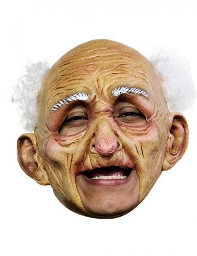 Realistisch oude man masker voor volwassenen