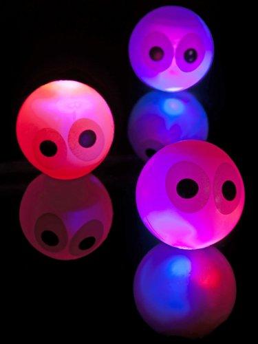 Lichtgevend stuiterbal met ogen