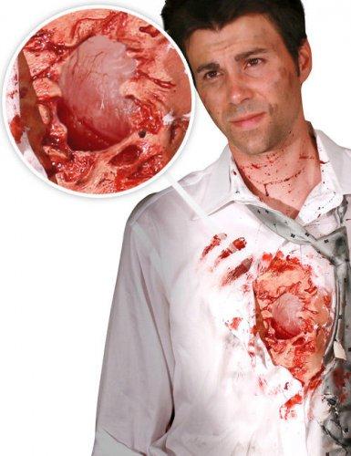 Morphsuits™ open hartwond voor volwassenen