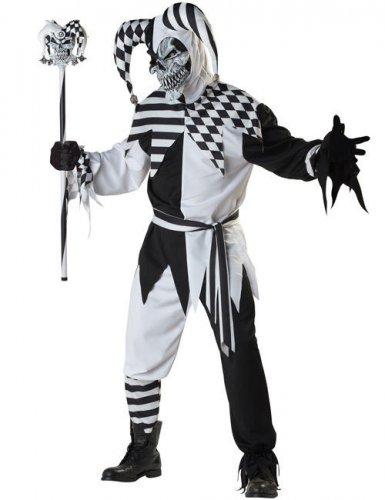 Donkere harlekijn kostuum voor volwassenen