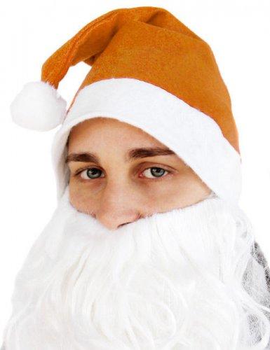 Oranje kerstmuts voor volwassenen