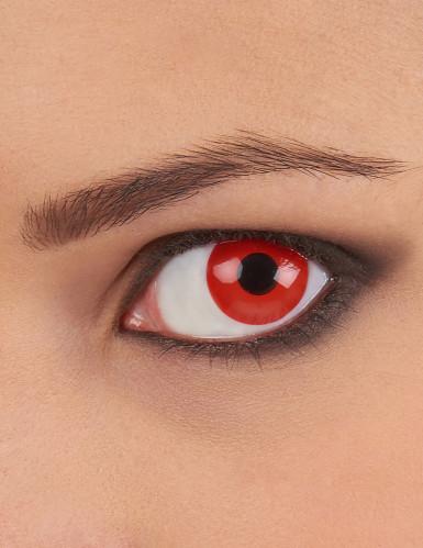 Rode ogen contactlenzen voor volwassenen