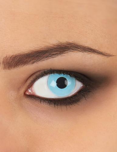 IJsblauwe ogen contactlenzen