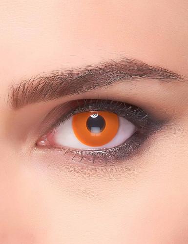 Oranje oog contactlenzen voor volwassenen