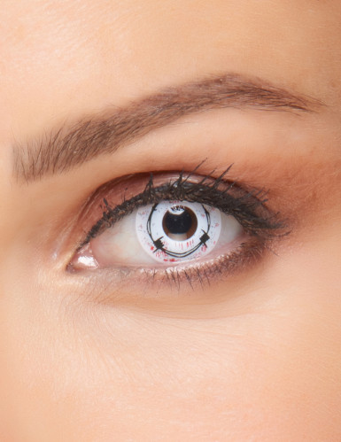 Bloederig prikkeldraad contactlenzen voor volwassenen