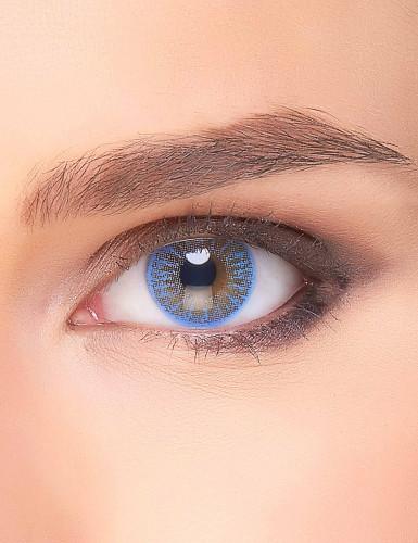 Lichtblauwe electro contactlenzen