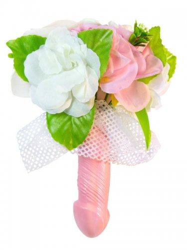 Bruiloft penis bloemen boeket