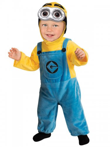 Minion Dave™ kostuum voor baby's