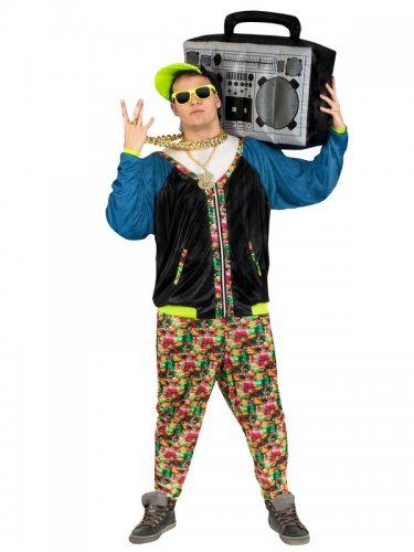 Hip-Hop jaren 80 kostuum voor volwassenen-2