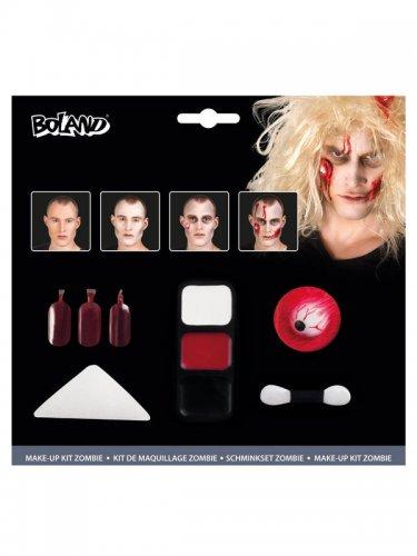 Zombie schminkset met bloederig oog voor Halloween-1