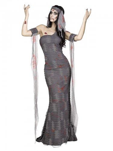 Zombie mummie kostuum voor vrouwen