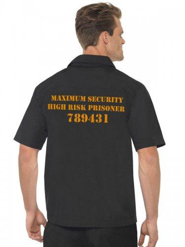 Gevangenis overhemd voor mannen-1