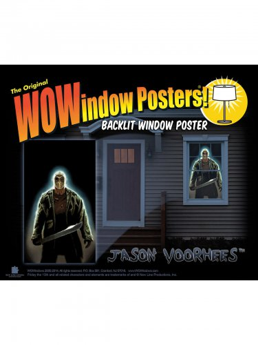 Jason Voorhees Friday the 13th™ raamsticker
