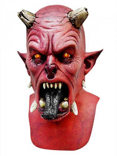 Eng rood duivel masker