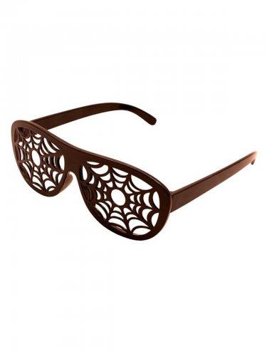 Halloween spinnenweb bril