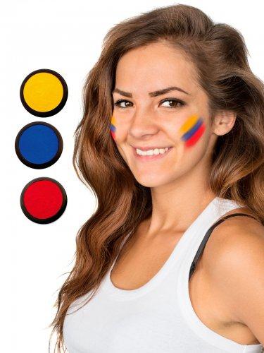 Ecuador schmink set met drie kleuren