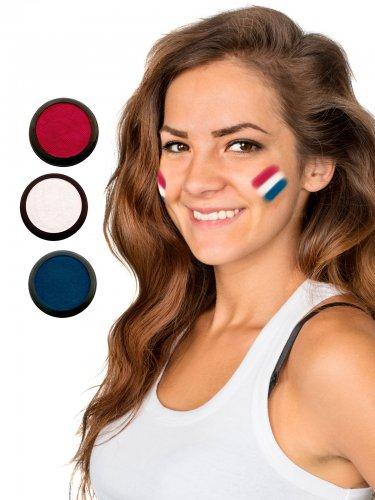 Nederland voetbal schmink set